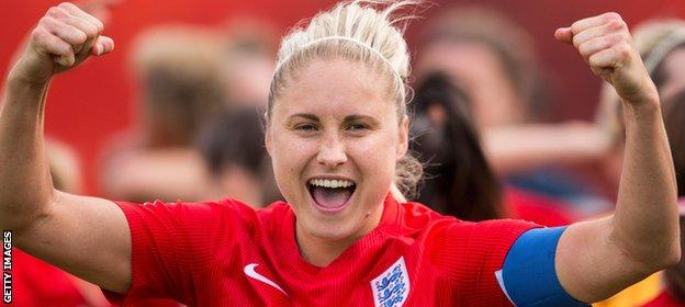 Steph Houghton will captain the side