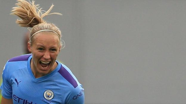 Women's Super League: Manchester City 3-1 Everton thumbnail