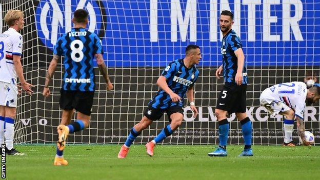 Inter Milan 5 Sampdoria