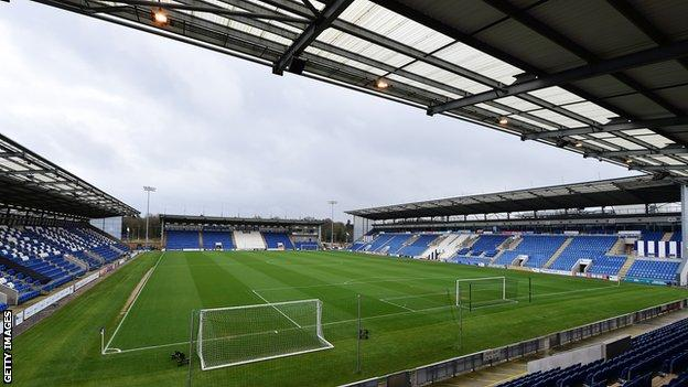 A general view of the Weston Community Homes Stadium