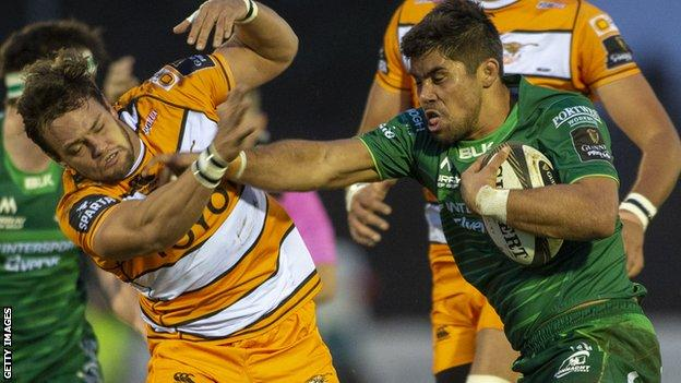 """Nico Lee of the Cheetah's admitted """"clearing the contents of his nose"""" on to a Connacht player"""