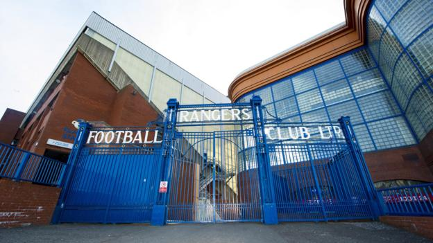 Rangers: Uefa orders Ibrox section to close after 'sectarian singing'