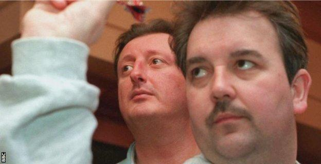 Eric Bristow and Phil Taylor