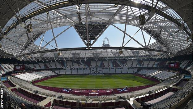 General view of London Stadium