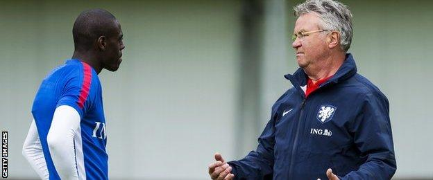 Former Netherlands boss Guss Hiddink