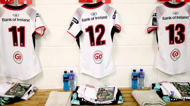 Darren Cave will be hanging up the Ulster number 13 jersey he's worn for 13 seasons at the end of this campaign