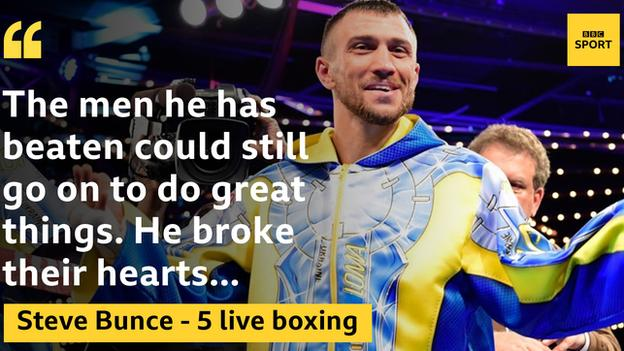 Lomachenko made four opponents retire on their stool before he stopped Linares