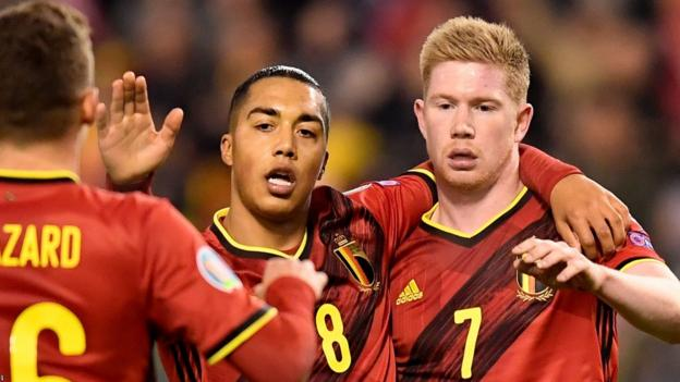 Belgium 6-1 Cyprus: Roberto Martinez's side end qualifying with perfect record