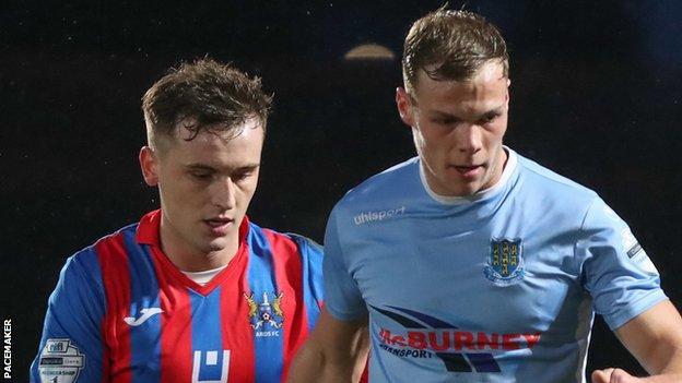 Ballymena beat Ards 2-0