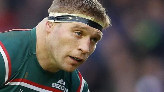 Leicester's Youngs cited over punching allegation