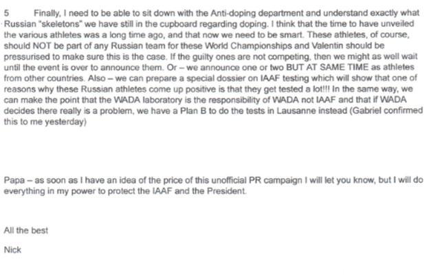 Nick Davies' email