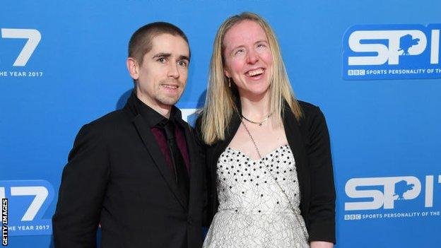 Fachie and husband Neil decided to put off starting a family to compete at the delayed Tokyo Paralympics