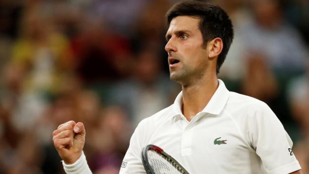 102522749 djokovic - Rafael Nadal v Novak Djokovic: Wimbledon semi-last to resume on Saturday