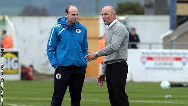 Jon McCarthy and Steve Burr