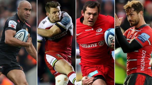 Premiership semi-finals: Saracens, Gloucester, Exeter and Northampton in last four thumbnail