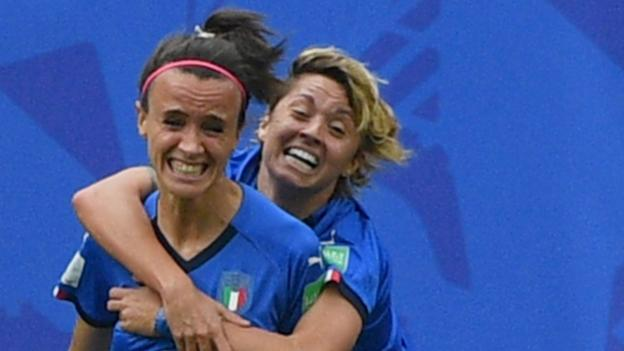 Australia 1-2 Italy: Bonansea scores twice as Italy fight back to clinch late victory thumbnail