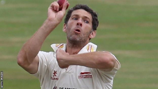 Charlie Shreck of Leicestershire