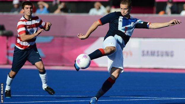 ParalympicsGB 7-a-side football player Michael Barker