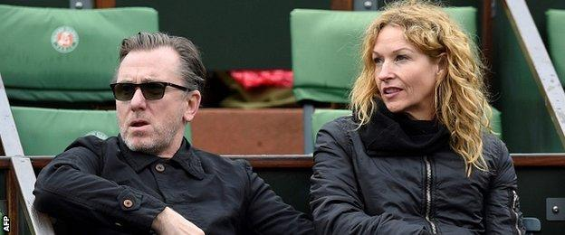 Tim Roth watches