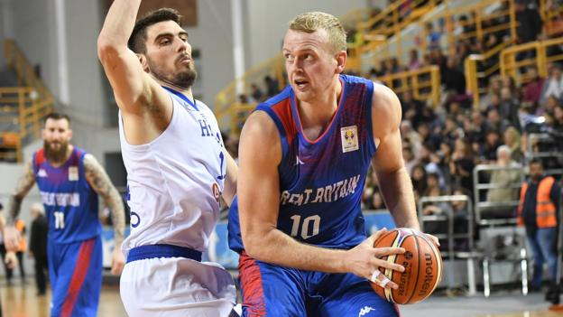 Great Britain lose 75-70 to Greece in Fiba World Cup qualifying