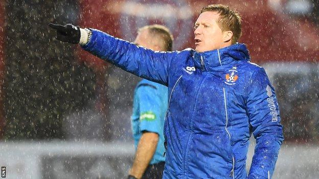 Locke praised his side's character after picking up a first win in two months