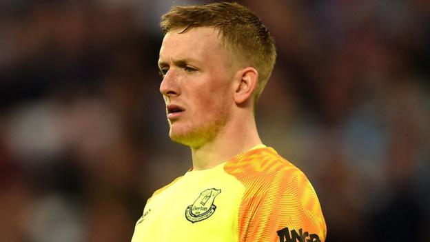Jordan Pickford: Everton manager Marco Silva 'not happy' with goalkeeper thumbnail