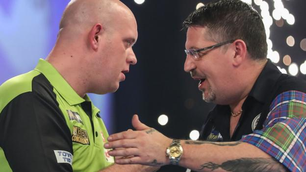 Premier League Darts: Michael van Gerwen says tournament will miss Gary Anderson thumbnail