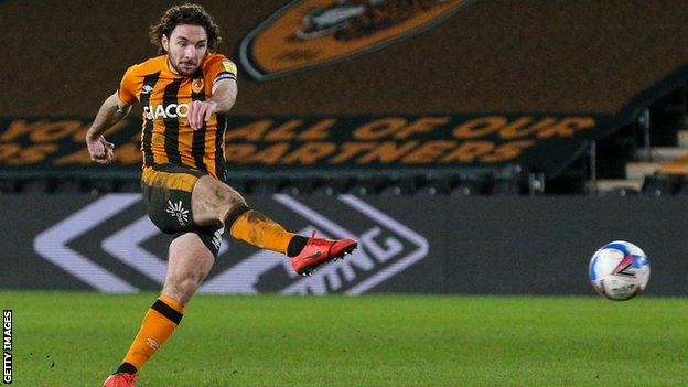 Lewie Coyle scores for Hull City