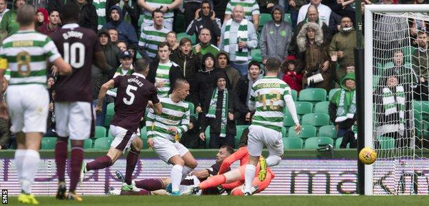 Leigh Griffiths makes it 1-0