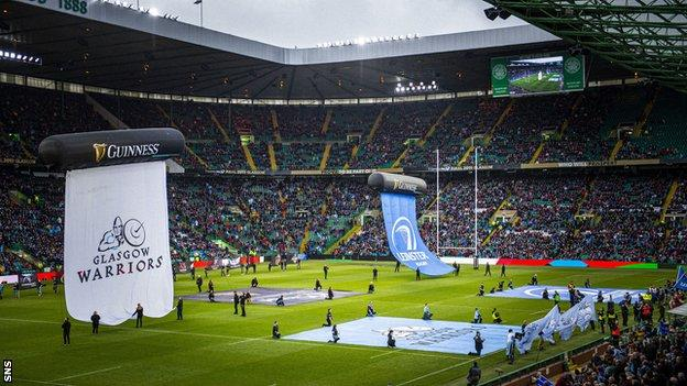 Last year's Pro14 final was between Glasgow Warriors and Leinster at Celtic Park