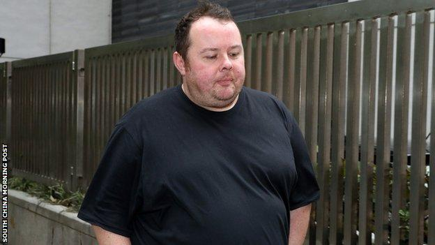 Stephen Lee at court in Hong Kong