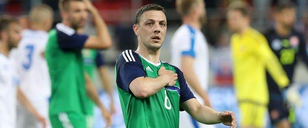 Chris Baird is relishing the chance to play in a major tournament for Northern Ireland