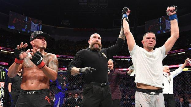 Nate Diaz and Anthony Pettis