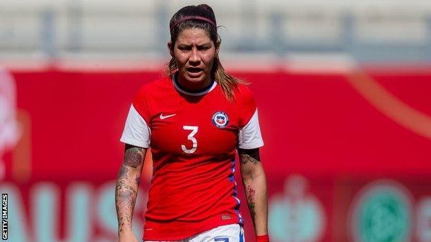 Carla Guerrero of Chile
