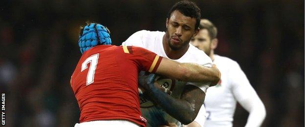 Justin Tipuric and Courtney Lawes