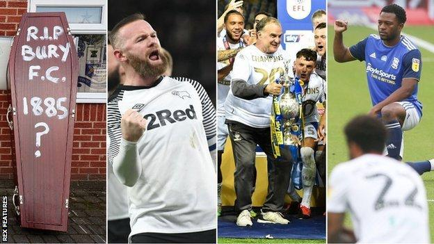 The 2019-20 season was the longest ever in the English Football League