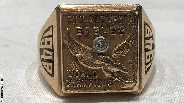 Tommy Thompson's 1949 Championship ring