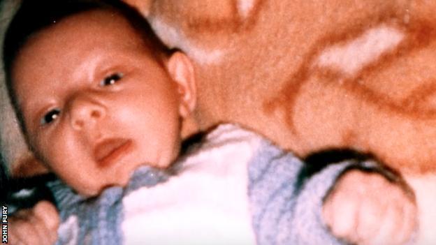 Tyson Fury as a baby