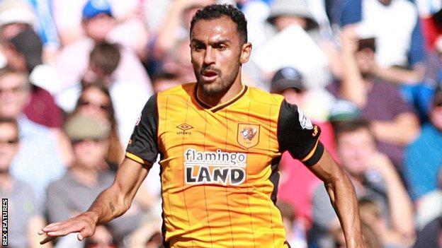 Hull City full-back Ahmed Elmohamady