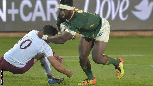 Siya Kolisi: South Africa captain to start against British and Irish Lions thumbnail