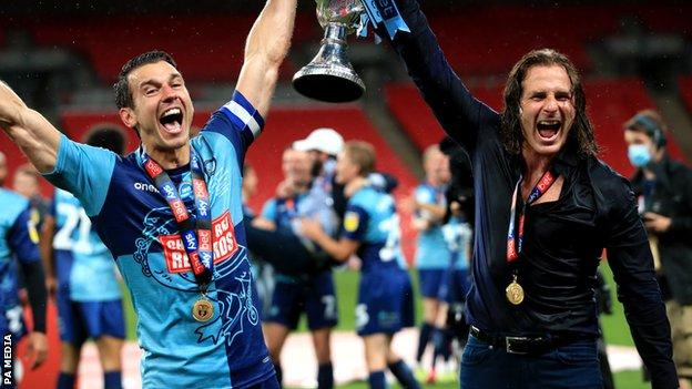 Matt Bloomfield and Gareth Ainsworth
