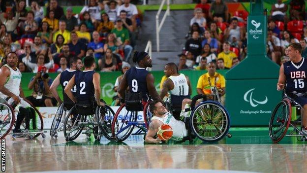 Paralympic basketball