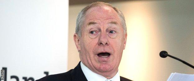 Irish Sports Minister Michael Ring