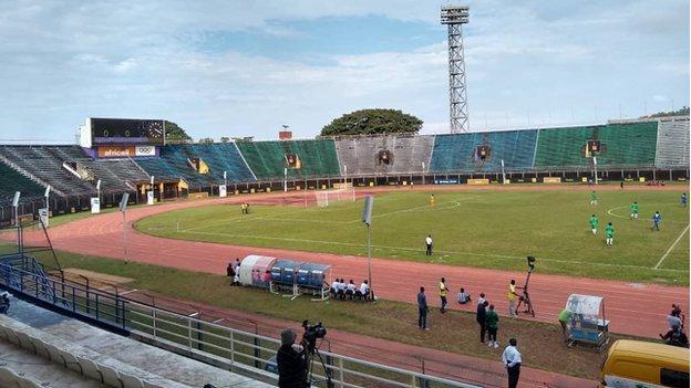 Sierra Leone's Siaka Stevens stadium