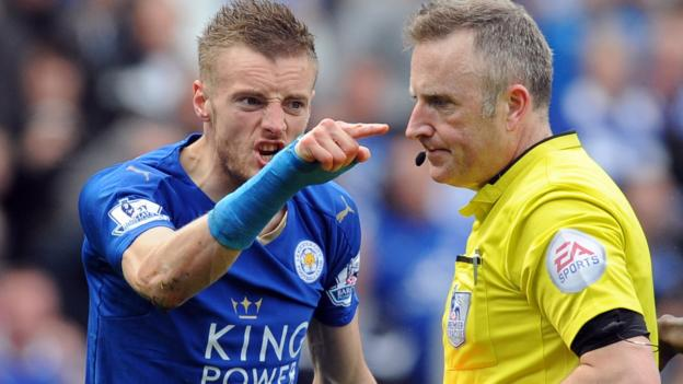 Leicester's Jamie Vardy charged by Football Association ...
