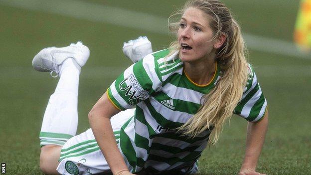 Celtic's Sarah Harkes