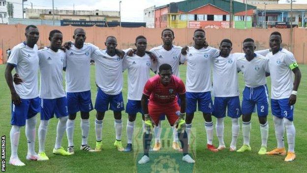The PWD Bamenda team