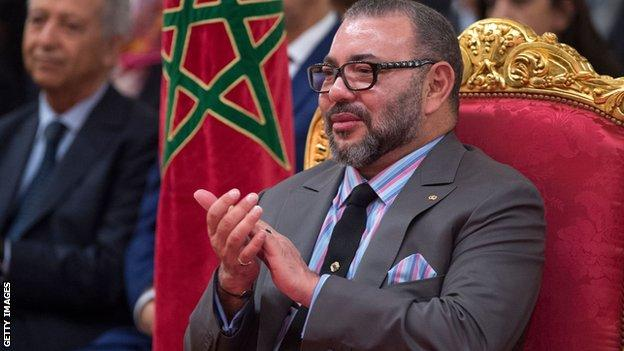 Mohammed VI, the King of Morocco