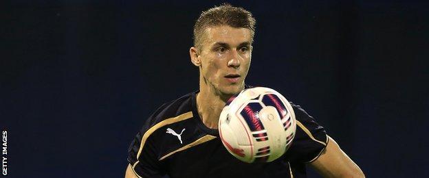 Dinamo Zagreb defender Jozo Simunovic