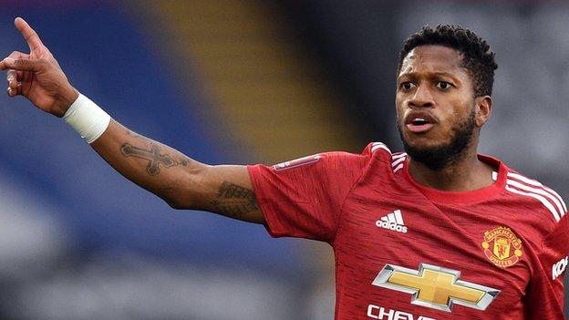 Manchester United's Fred